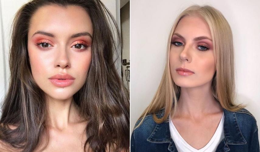 como maquiar - pele rosa