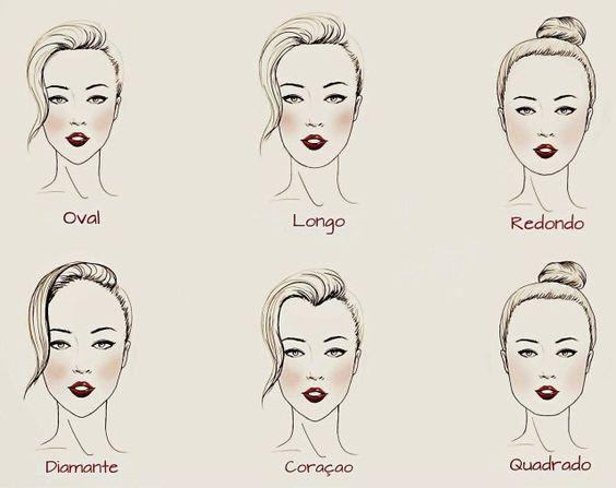 maquiagem verão - formato rosto
