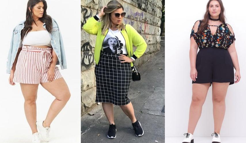 moda Plus Size - tenis