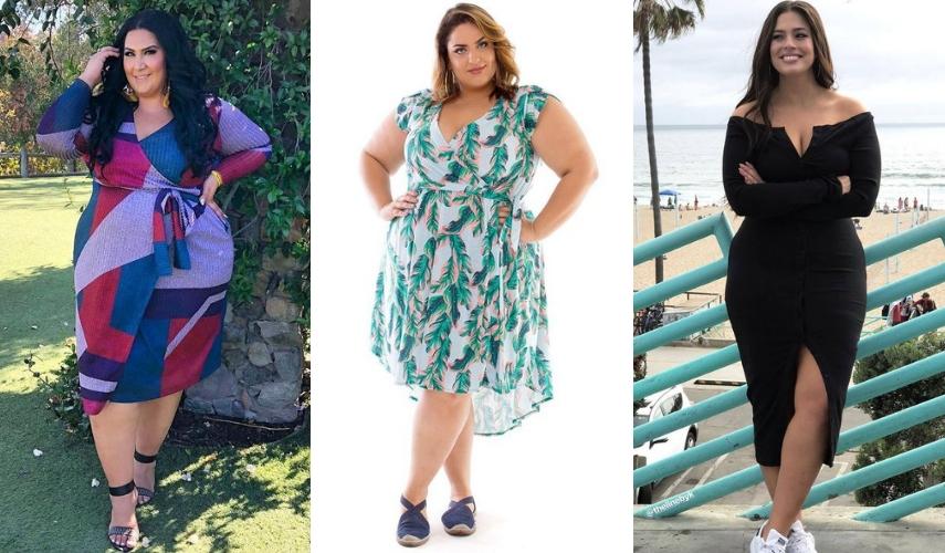 moda Plus Size - vestido