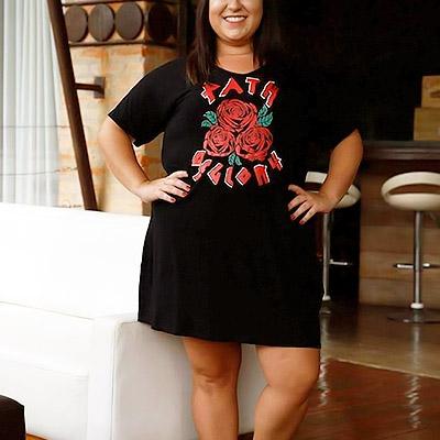 Vestido plus size | Amarílis Moda Fashion