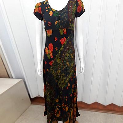 Vestido indiano longo | Autêntica Moda Feminina