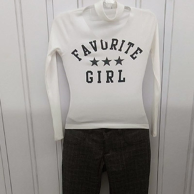 Blusa manga longa e calça   Forever Teen
