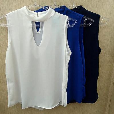 Blusa com recorte | Hitt Fashion Store