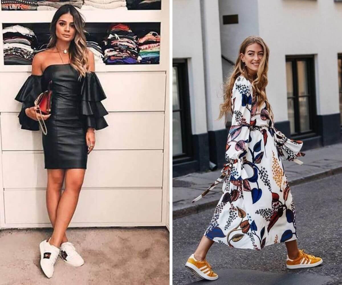 Look com tênis dicas blog Feira Shop