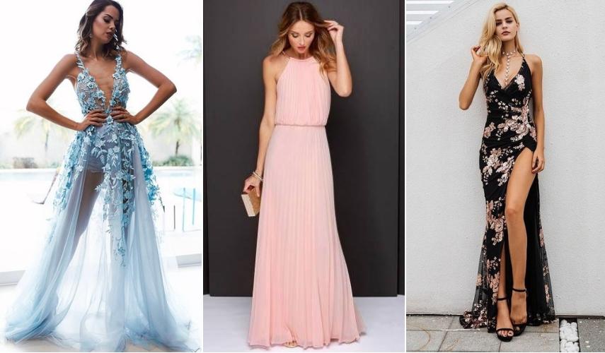 Moda festa - vestido inovador