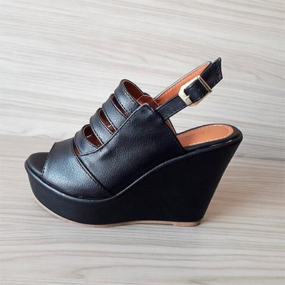 Sandália Anabela plataforma | Namitala Calçados