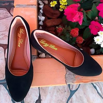 Sapatilha Feminina Preta | Calçados Aguiar