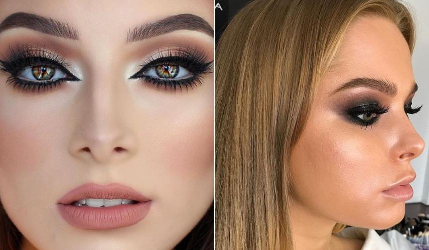 maquiagem para festa - iluminador