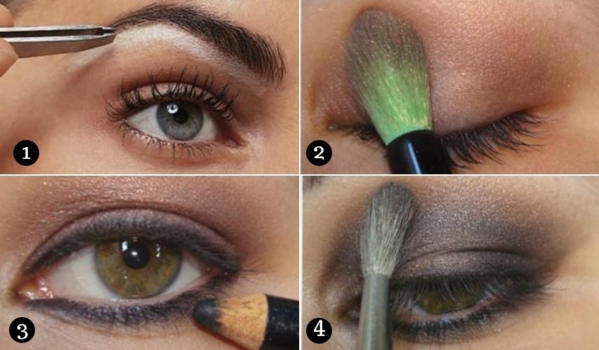 maquiagem para festa - passos