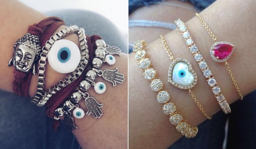 moda alternativa pulseiras