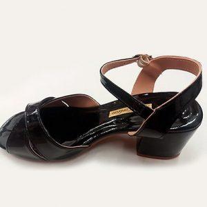 Sandália Feminina Com Salto Baixo | Calçados Aguiar