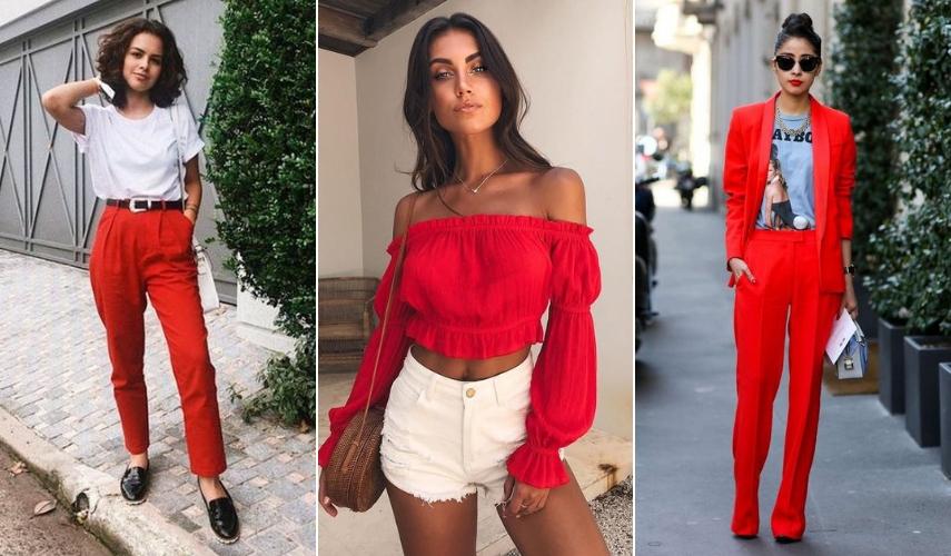 vermelho para 2019 - blusa