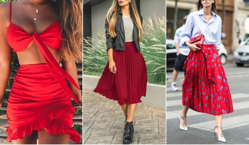 vermelho para 2019 - vestido