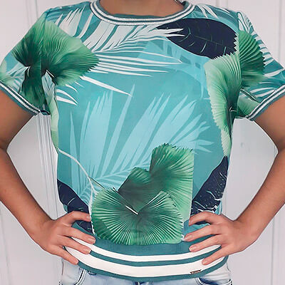 Blusa Feminina Estampa Floral | KSF Modas