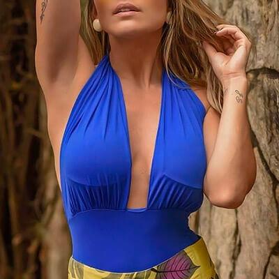 Body Decote Profundo | Leka Carvalho