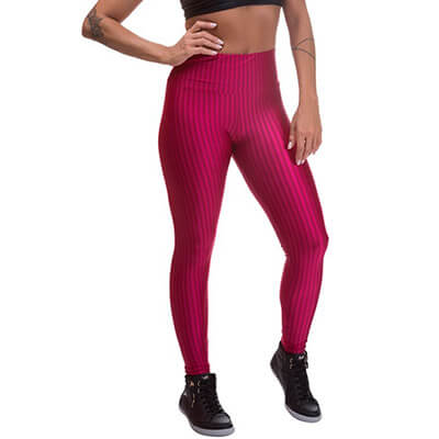 Calça Legging Miss Blessed 3D Poliamida | Elizier Fashion