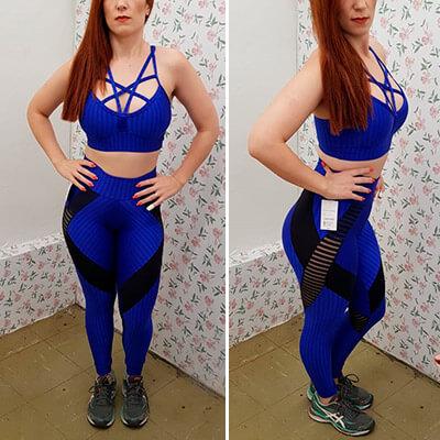 Calça Legging com Recorte | Absoluta Moda Fitness
