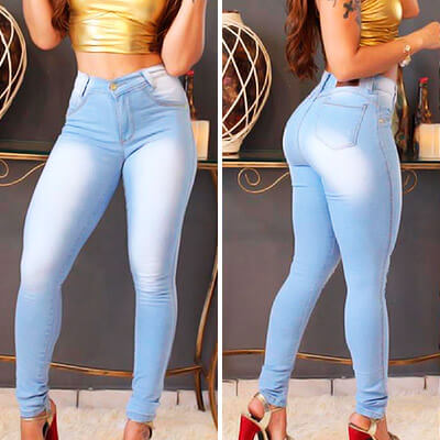Calça Skinny Feminina Cós Alto | Fuego Brasil