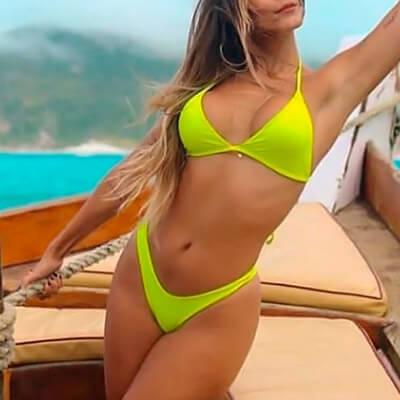 Conjunto Biquíni Neon Liso   Paraíso Fashion