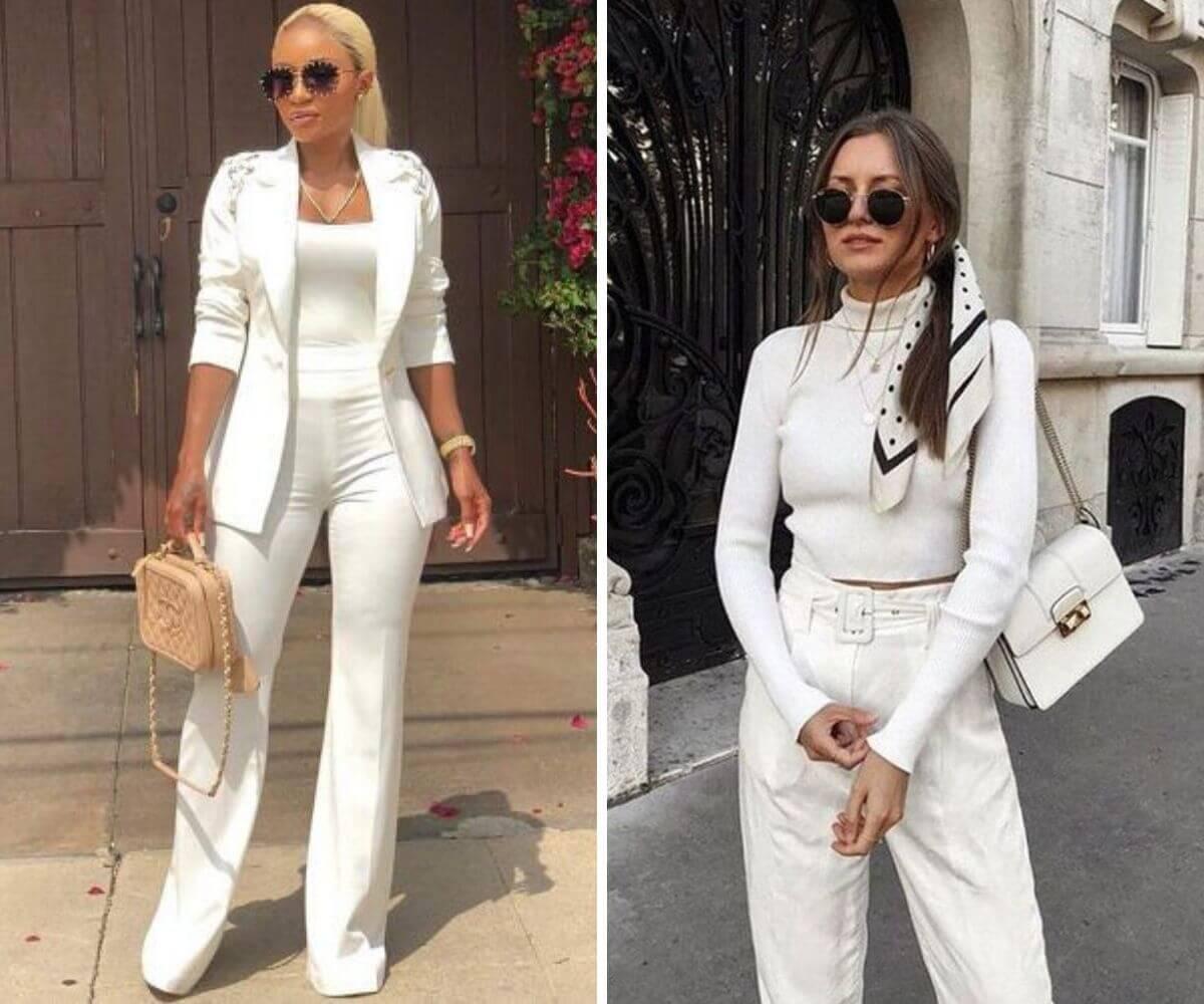 Looks total white dicas blog feira shop bh