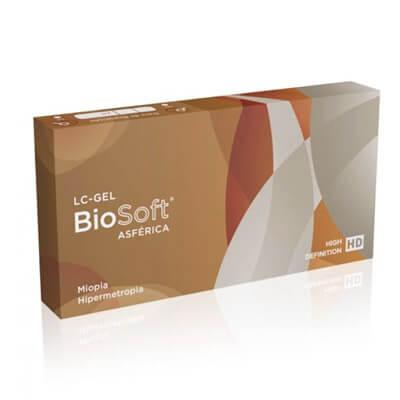 Lentes de Contato BioSoft Asferica HD | Lis Ótica