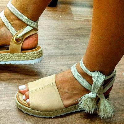 Sandália Feminina Flatform | La Vitrina Calçados
