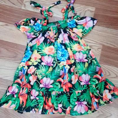 Vestido Infantil Floral | Menina Morena Vestidos Infantil