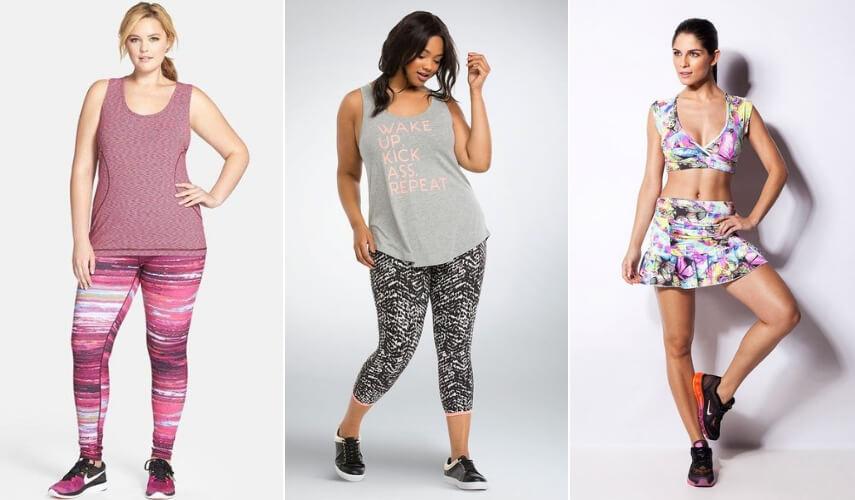 moda fitness - estilos