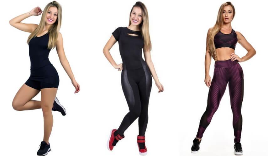 moda fitness - macacao