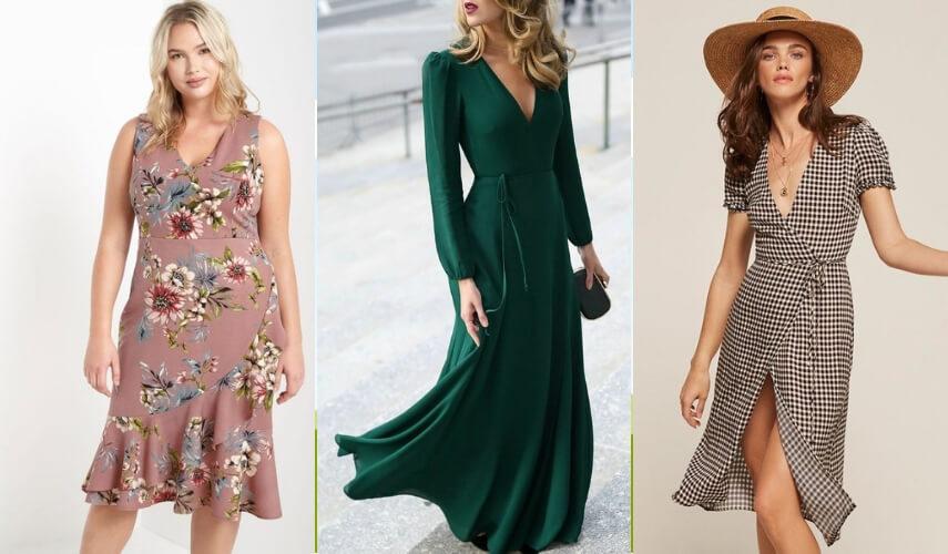vestido envelope - longo