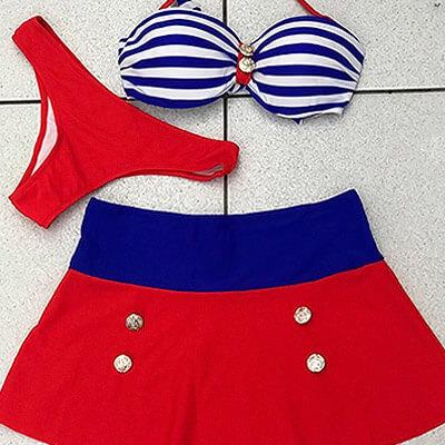 Biquíni Vintage Modelo Marinheira | Bikini.com