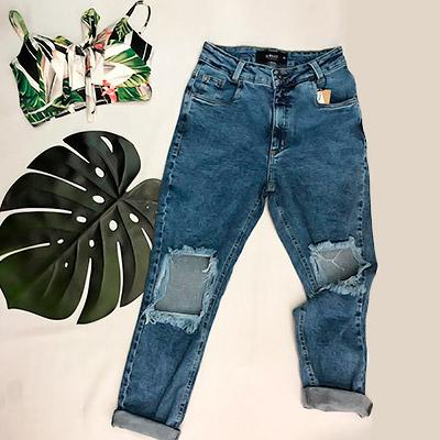 Calça Jeans Boyfriend | Dandalian