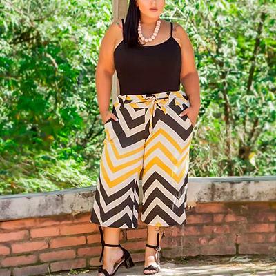Calça Pantacourt Plus Size | Lili Elegância Plus