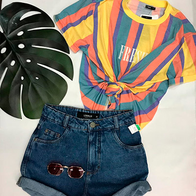 Camisa Feminina Vintage | Dandalian
