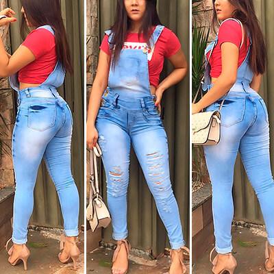 Jardineira Jeans Feminina | Soul Jeans