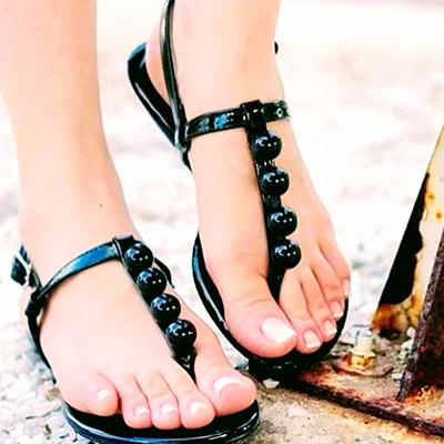 Sandália Feminina Rasteira | Namitala Calçados