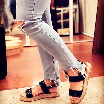 Sandália Flatform Feminina | Minha Paixão Calçados