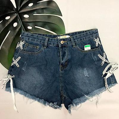 Short Jeans Cintura Alta | Dandalian