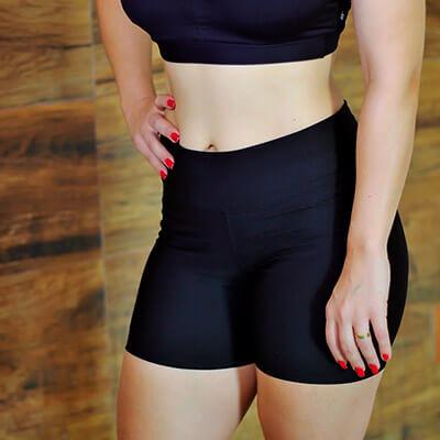 Short Meia Coxa Feminino | Absoluta Moda Fitness