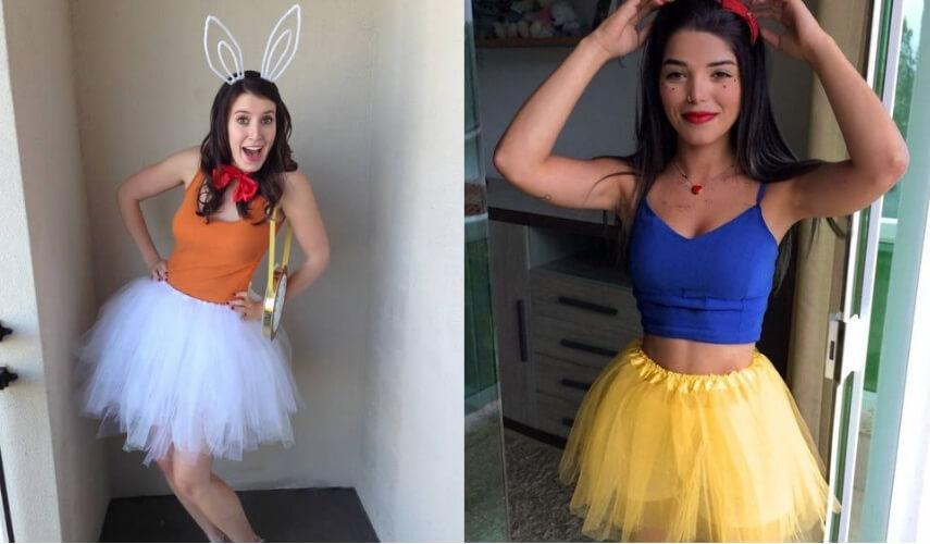 fantasias de carnaval - princesas