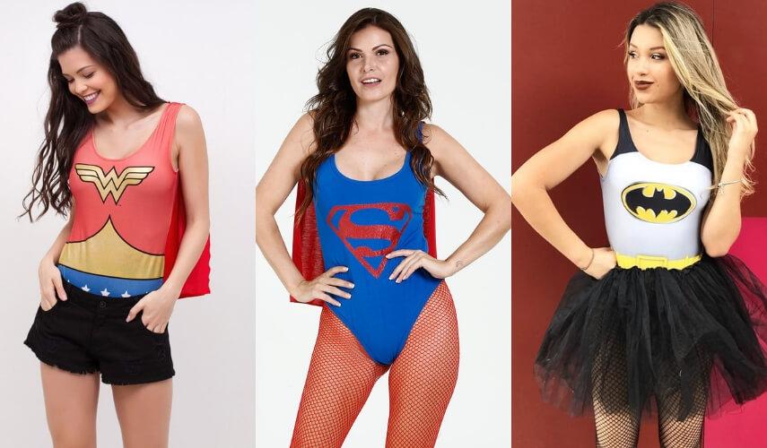 fantasias de carnaval - superheroi