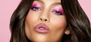 Maquiagem Rosa: tendência colorida do outono inverno