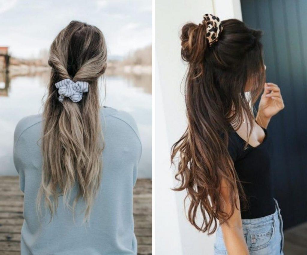 Scrunchies para bad hair day com usar blog feira shop bh