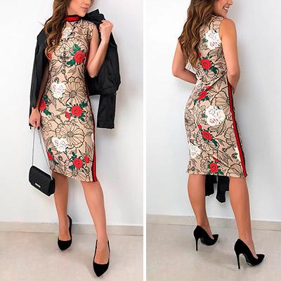 Vestido Amanda Estampa Floral | Boutique Morena Chic