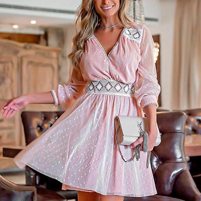 Vestido Fe Marques em Tule Rose   Boutique Morena Chic