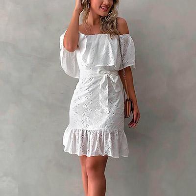 Vestido Romantic Crepe | Boutique Morena Chic