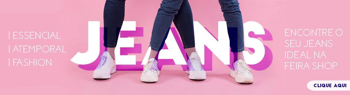 Encontre o seu Jeans ideal na Feira Shop
