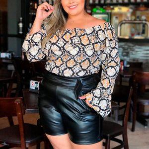 Blusa Ciganinha Plus Size | Boutique Pimenta Espaço Plus Size