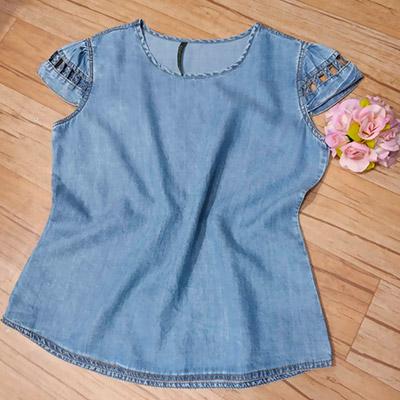 Blusa Jeans Feminina | Igma Phabrica da Moda